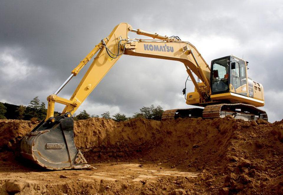 Large excavator / crawler / diesel / Tier 2