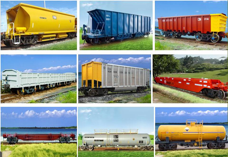 railway wagons